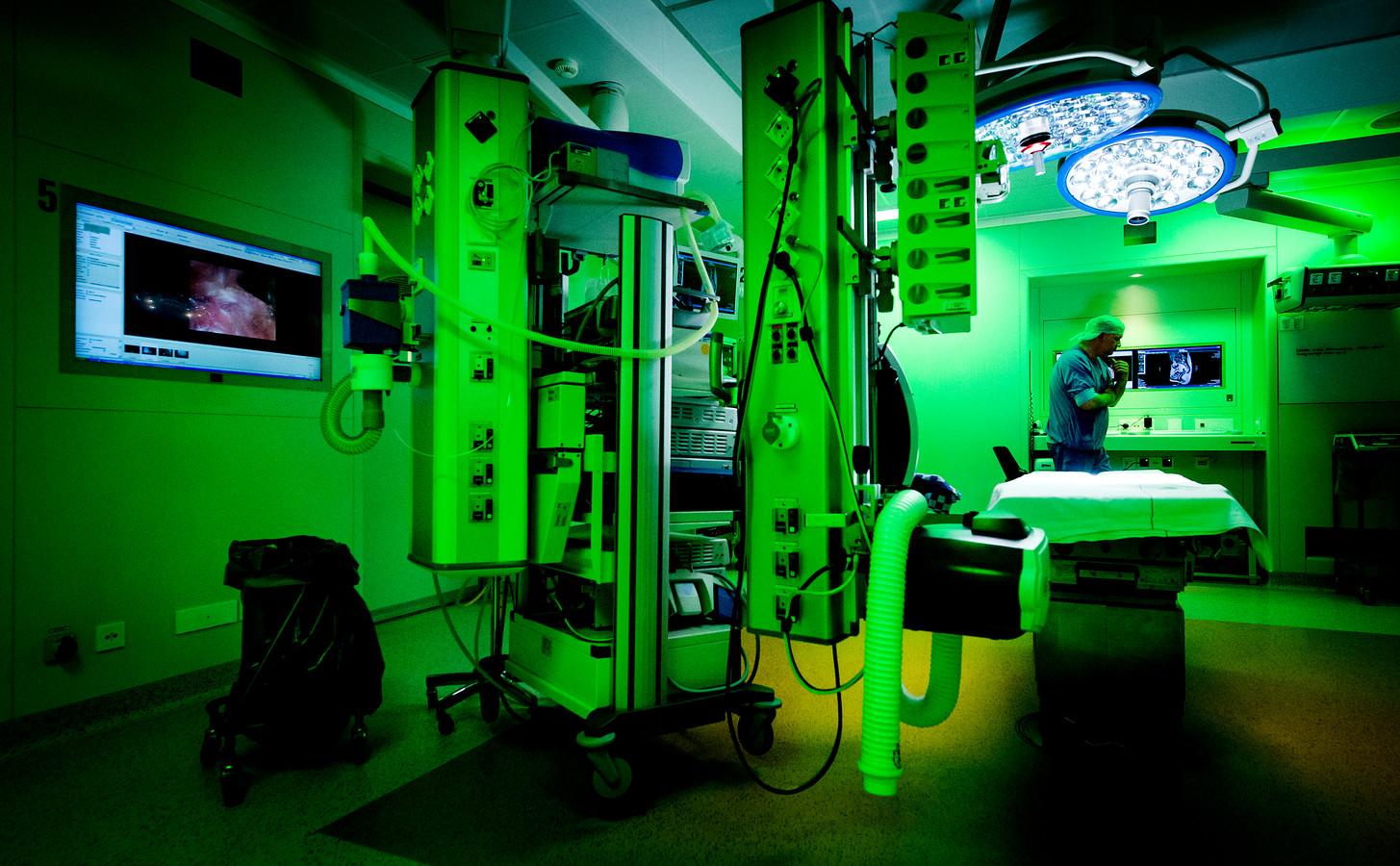 De operatiekamer van een Nederlands ziekenhuis. Foto ter illustratie.