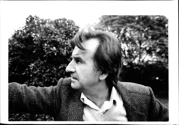 Gerald Murnane in 1987. 'Beelden in mijn hoofd sturen me een soort boodschap: ik ben een mysterie, kun je over me schrijven en uitzoeken hoe het zit?' Beeld Fairfax Media via Getty Images