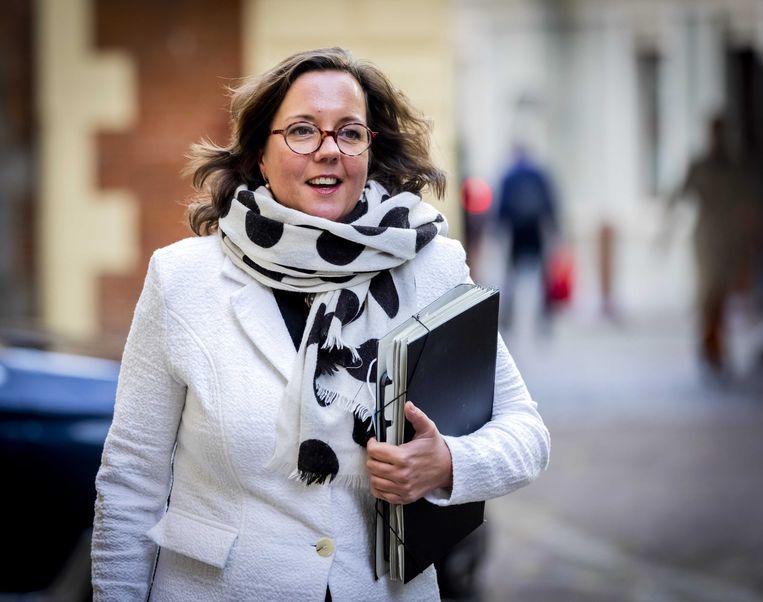 Tamara van Ark, minister voor Medische Zorg, staat tweede op de VVD-kandidatenlijst.  Beeld ANP