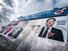 Hitlersnor, hakenkruizen en nazigroet op verkiezingsposters van de VVD: 'Te ziek voor woorden'