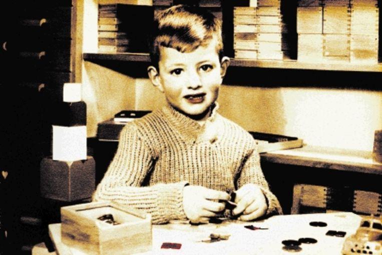 De kleuterschool van Wormerveer in 1955 (anoniem). (Trouw) Beeld