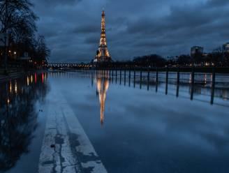 Hoge stand Seine dreigt delen Parijs onder water te zetten