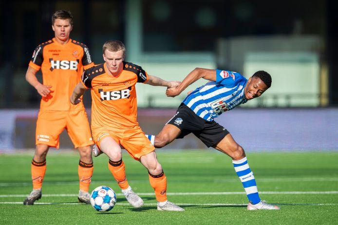 Dico Jap Tjong was zaterdag trefzeker voor FC Eindhoven.