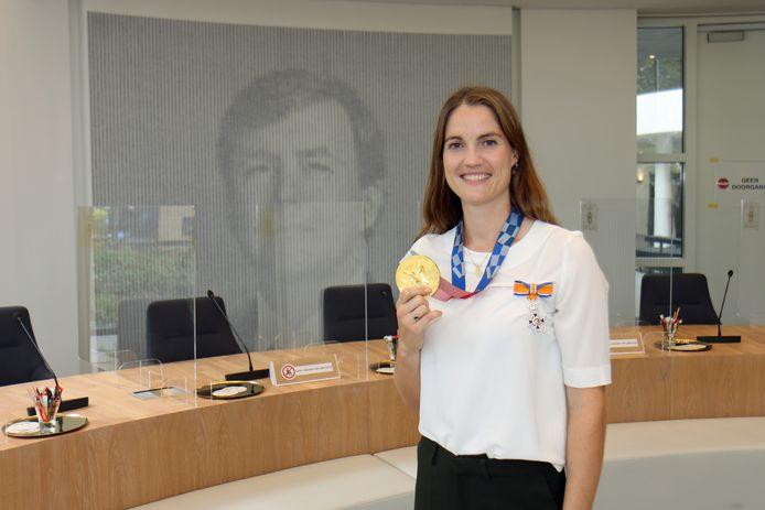 Marloes Keetels heeft haar koninklijke onderscheiding.