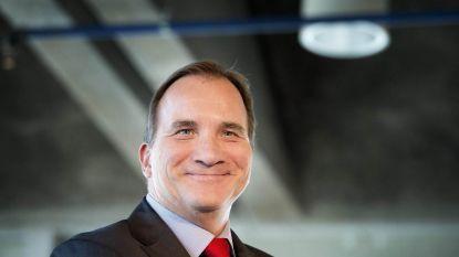 Sociaaldemocraat Stefan Löfven herverkozen als premier van Zweden