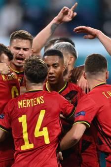 Prachtig eerbetoon Lukaku aan Eriksen geeft eenvoudige zege België op Russen kleur
