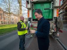 Een bosje tulpen voor de mensen die Bergen op Zoom schoon houden