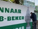 Make-over voor buitenmuren oude stadion FC Wageningen