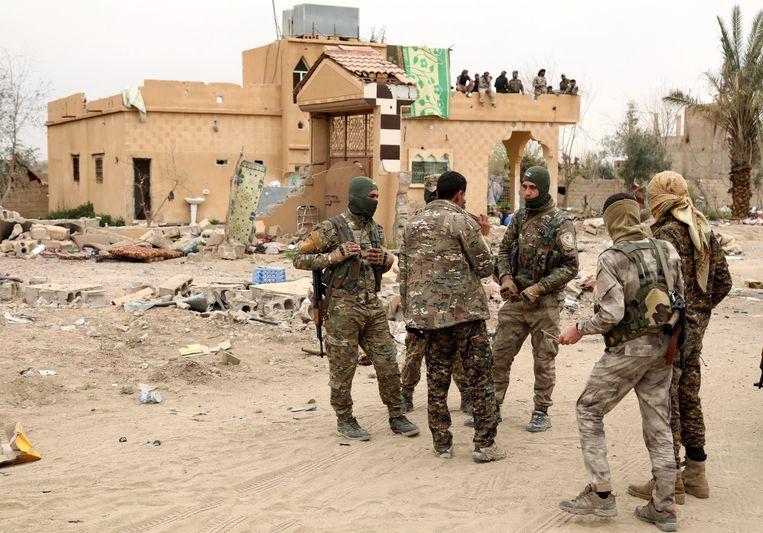 Baghouz, het laatste bolwerk van IS, werd een kleine maand geleden terug veroverd door de Syrische Democratische Strijdkrachten (SDF).