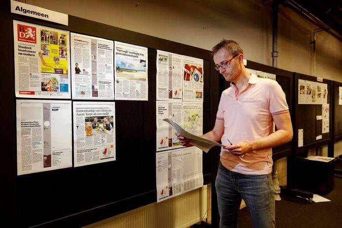 Eindredactie met Martijn Storms.