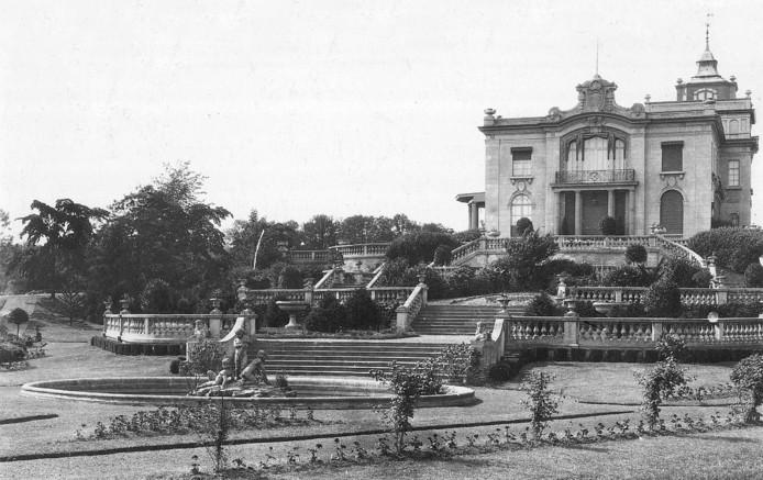 Het paleisje Peapark van Piet de Wit.