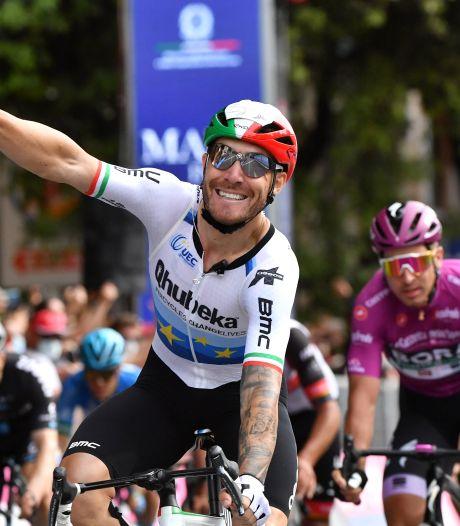 L'Italien Nizzolo vainqueur au sprint de la 13e étape du Giro