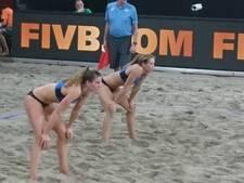 Beachvolleybalster Sinnema verliest eerste duel op Beach Open