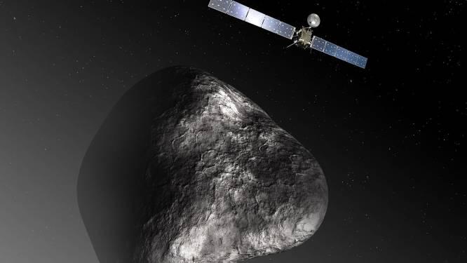 Ruimtesonde Rosetta heeft ook Belgisch kantje