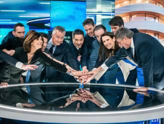 Met complimenten van de VRT-collega's: dit is de nieuwe studio van VTM Nieuws