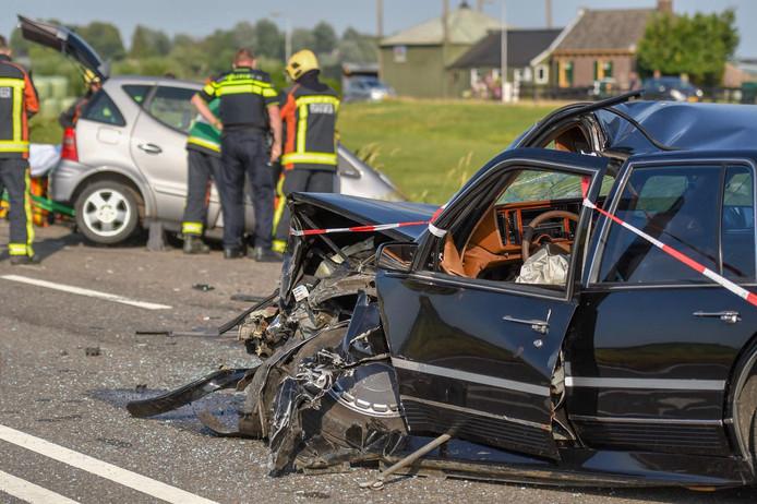 Op de N231 in Aarlanderveen heeft een ongeluk plaatsgevonden.