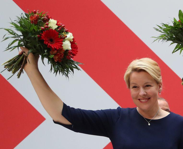 Franziska Giffey (SPD). Beeld EPA