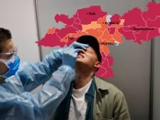CORONAKAART | Besmettingscijfers in regio knallen omhoog, vooral in Renswoude en Gennep
