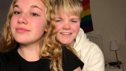 """Emma (15) wordt Lucas en krijgt volle steun van liefje Maudi (14): """"Voor mij is hij altijd een jongen geweest. Ik hou van hem, wat er ook gebeurt"""""""