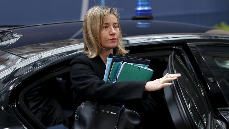 Federica Mogherini Beeld reuters