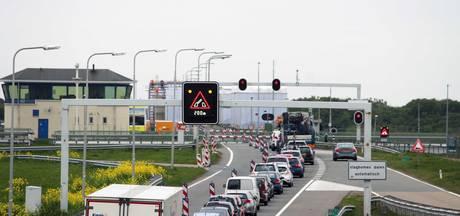 Verkeer rijdt weer op Afsluitdijk