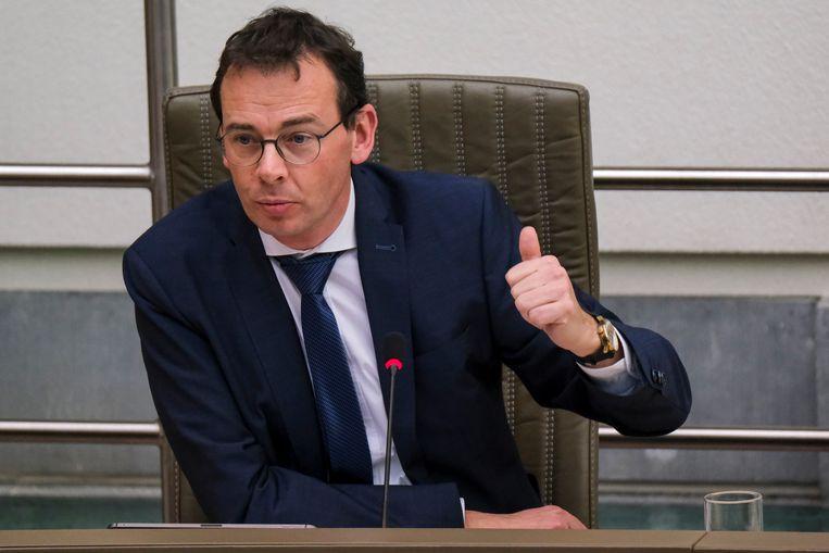 Vlaams minister van Welzijn Wouter Beke (CD&V). Beeld BELGA