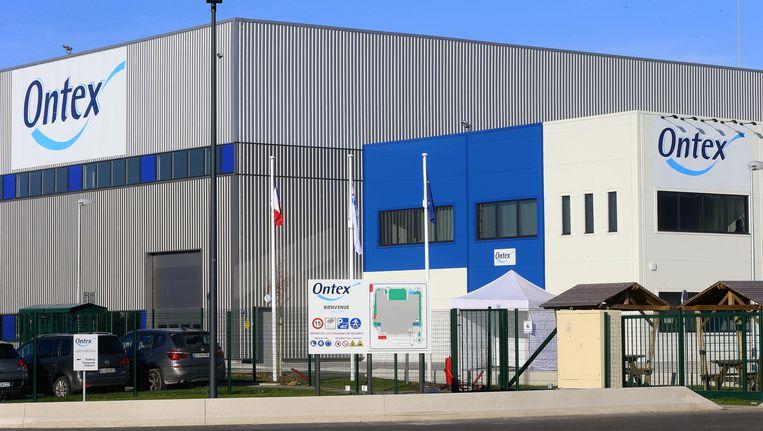 Ontex maakt een winst van 10,27 procent bij een slotkoers van 33,11 euro. Beeld BELGA