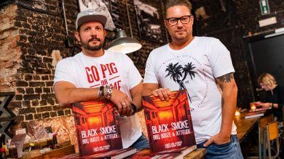 Boek uitgegeven én straks tweede zaak in Rotterdam: restaurant Black Smoke is letterlijk en figuurlijk 'on fire'