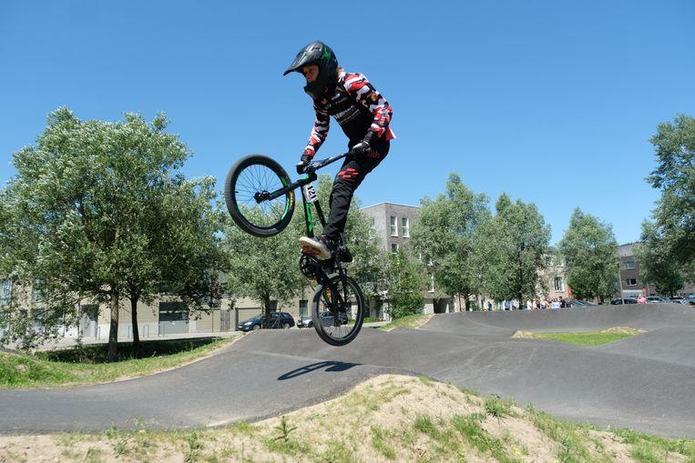 het gloednieuwe urban sports park in Linkeroever