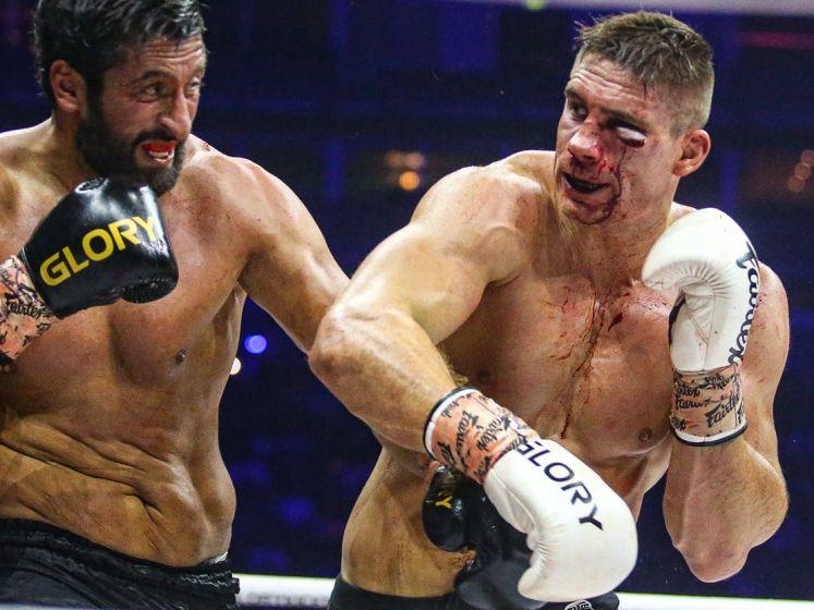 Bekijk hier de samenvatting van het spectaculaire gevecht tussen Rico Verhoeven en Jamal Ben Saddik