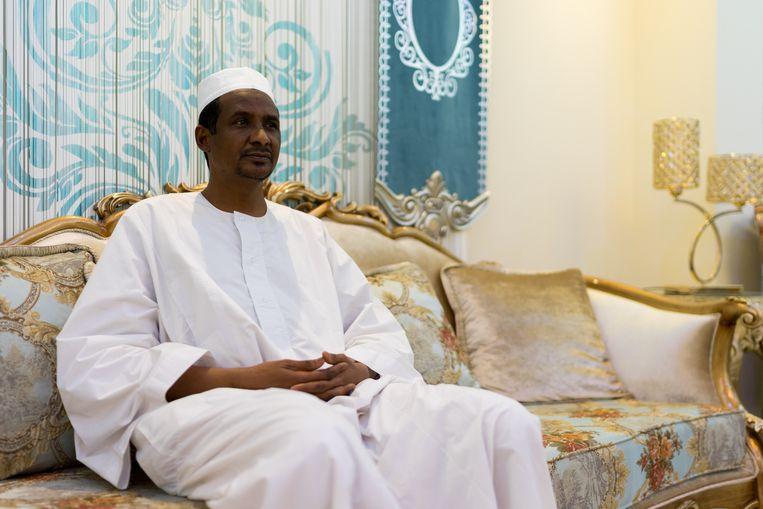 Mohamed Hamdan Dagalo, beter bekend als Hemedti, in zijn residentie in Khartoem, Soedan, december 2019. Beeld Klaas van Dijken