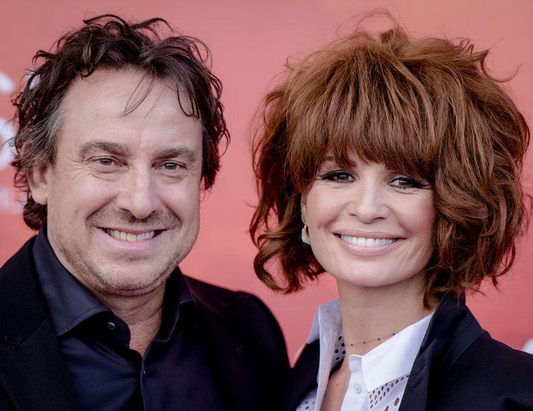 Marco en Leontine Borsato. Beeld ANP Kippa