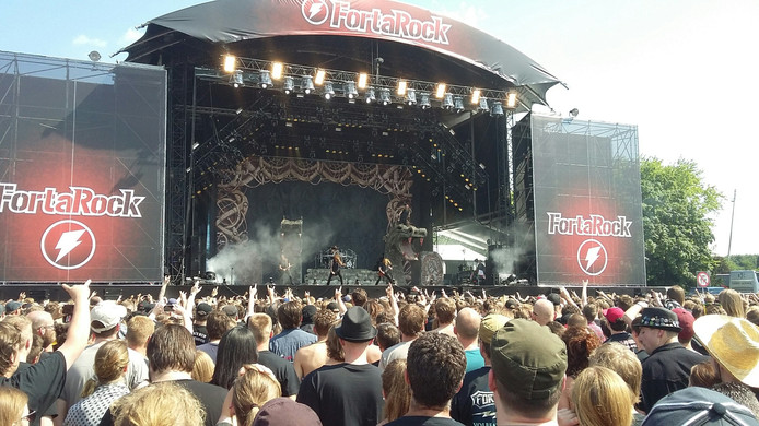 De band Amon Amarth.