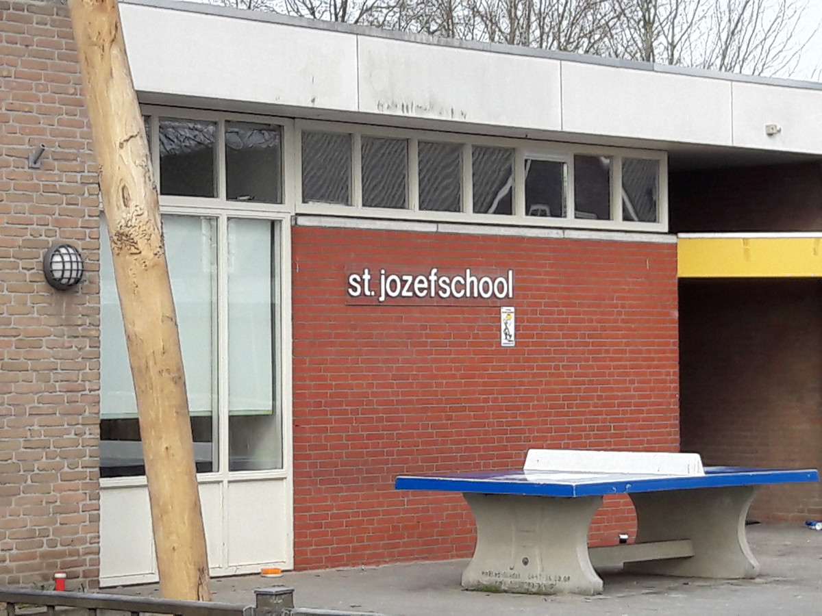 De St. Jozefschool in Haghorst.