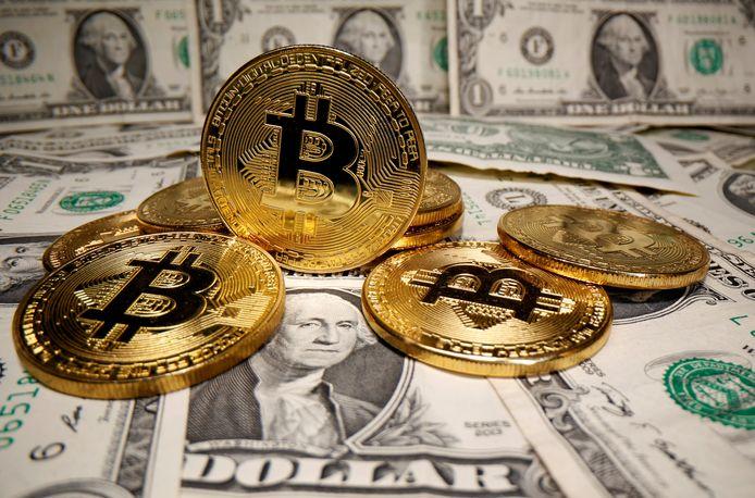 Bitcoin zit op een recordkoers van meer dan 44.000 dollar per stuk.