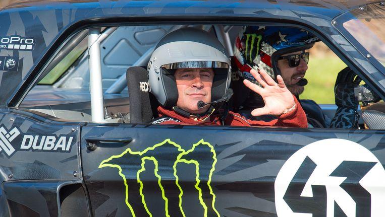 Matt LeBlanc in een aflevering van Top Gear. Beeld photo_news