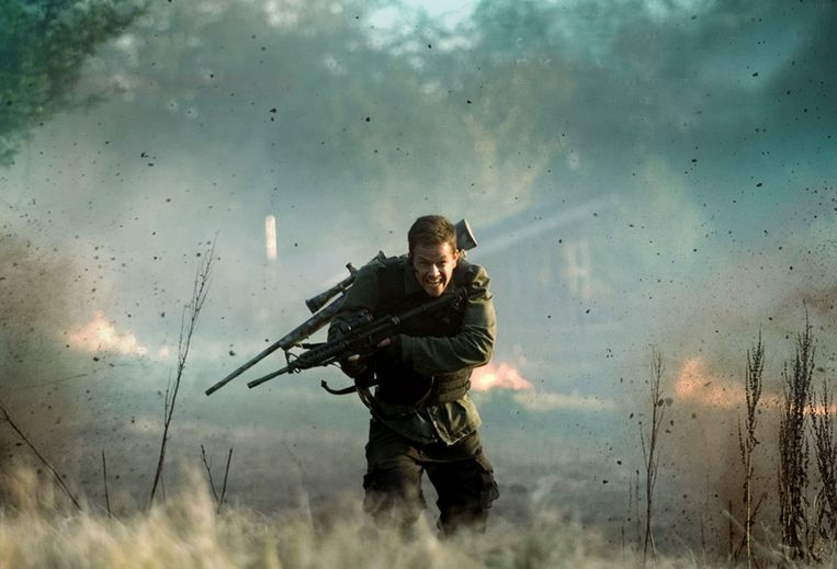 Mark Wahlberg in Shooter. Beeld