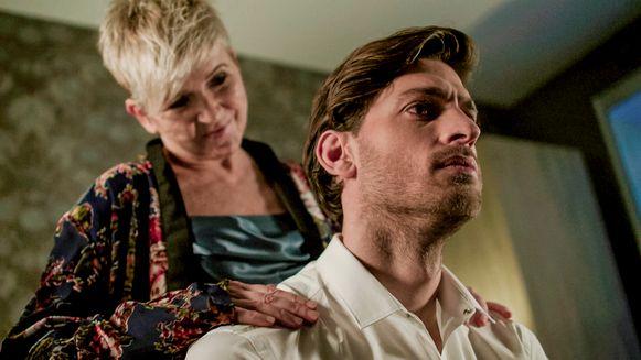 Guido en Griet in actie in 'Familie'.