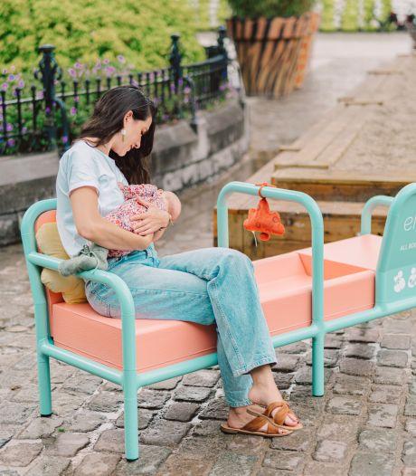In Kortrijk doorbreken ze een taboe: met de borsten bloot op de borstvoedingsbank