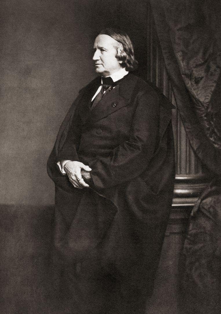 Alfred de Vigny Beeld Getty