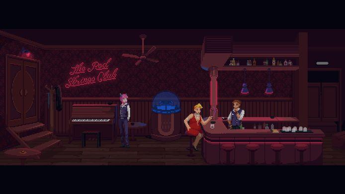 'The Red Strings Club' en diens epische pixelgraphics.