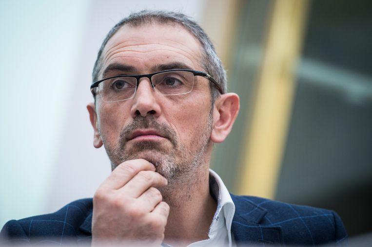 Professor Fiscaal Recht Michel Maus (VUB).  Beeld BELGA