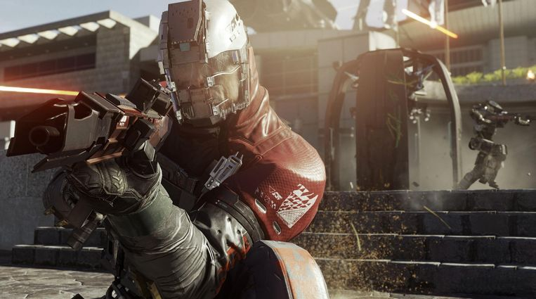 Still uit Infinite Warfare uit de Call of Duty-serie. Beeld rv