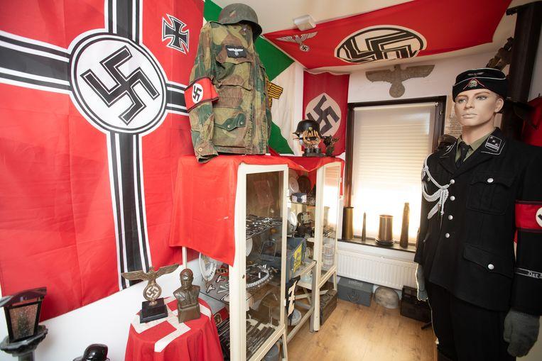 Nazi-spullen, ter illustratie.  Beeld