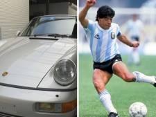 La Porsche de Maradona mise aux enchères en Belgique