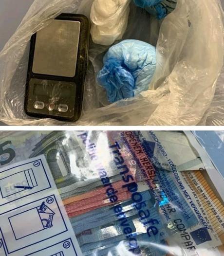 Man met drugs en veel cash op zak aangehouden in Eindhoven