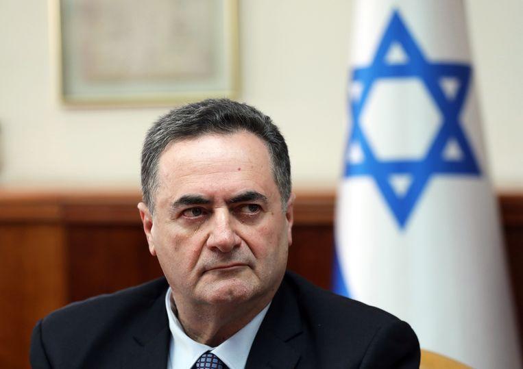 Israëlisch minister van Buitenkandse Zaken Israël Katz roept op tot een ban van Aalst Carnaval. Beeld EPA