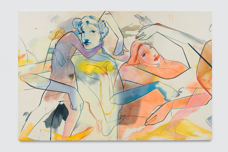 France-Lise McGurn, Daydream and Drunkenness (2019) Beeld Ben Westoby / Simon Lee Gallery