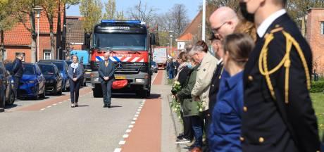 Westdorpe en brandweercollega's doen Carl de Hulsters uitgeleide