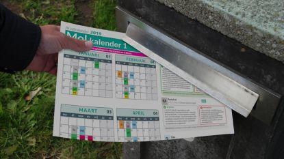 Bijna elke Kempenaar wil afvalkalender op papier
